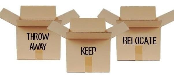 How to Declutter Your House Before a Move
