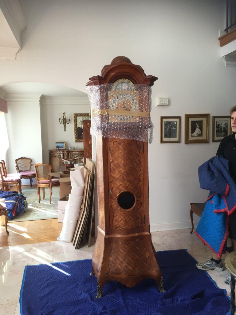 Grandfather Clock Crating